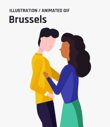 Bike for Brussels - Illustration - Animation
